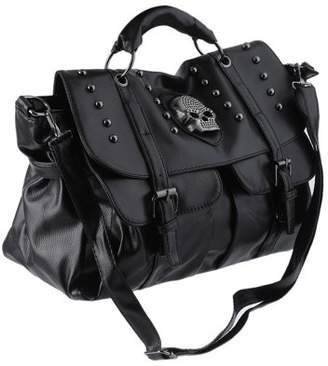 Sunrain Fashion Women'S PU Leather Bag Punk Skull Rivet Design Handbag Satchel Messenger Crossbody Shoulder Bag