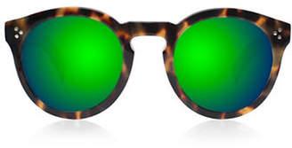 Illesteva Leonard 2 Round Sunglasses