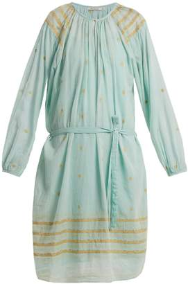 Mes Demoiselles Tenerife embroidered cotton dress