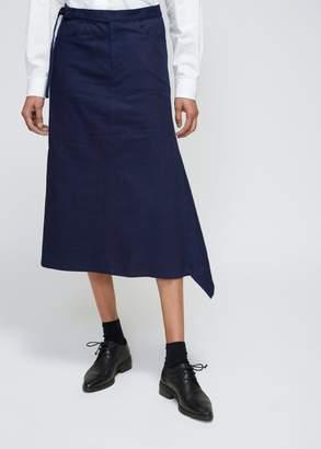 Yohji Yamamoto Flare Tight Skirt