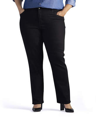 Lee Relaxed Fit Straight-Leg Jeans - Plus