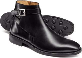 Charles Tyrwhitt Black Jodphur Boots Size 8