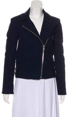 Victoria Beckham Textured Zip-Up Jacket