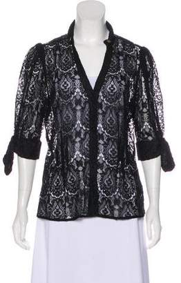 Mayle Sheer Lace Cardigan w/ Tags