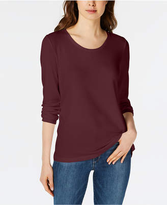 Maison Jules Scoop-Neck Top