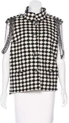 Chanel Paris-Londres Embellished Vest