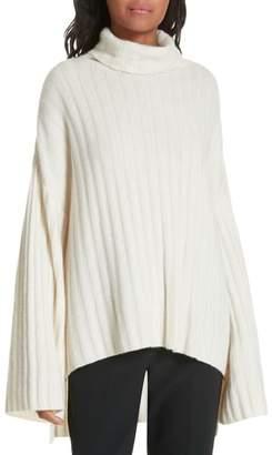 Milly Rib Knit Cashmere Oversize Sweater