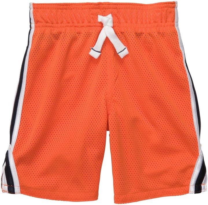 Carter's Toddler Mesh Short - Orange-2T