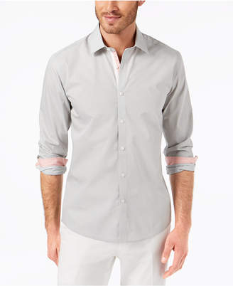 Ryan Seacrest Distinction Men's Slim-Fit Tile-Print Sport Shirt, Created for Macy's