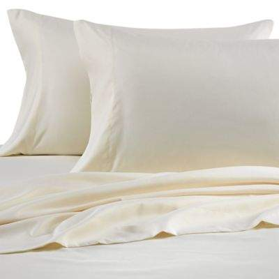 Benzoyl Peroxide-Resistant Microfiber Twin XL Sheet Set in Ivory