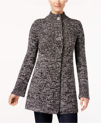 Style&Co. Style & Co Button-Front Bell-Sleeve Cardigan
