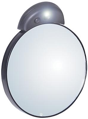 Tweezerman Tweezermate 10x Lighted Mirror Silver
