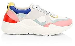 Alice + Olivia Women's Claudine Colorblock Leather Sneakers