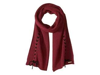 Vince Camuto Laced-Up Muffler