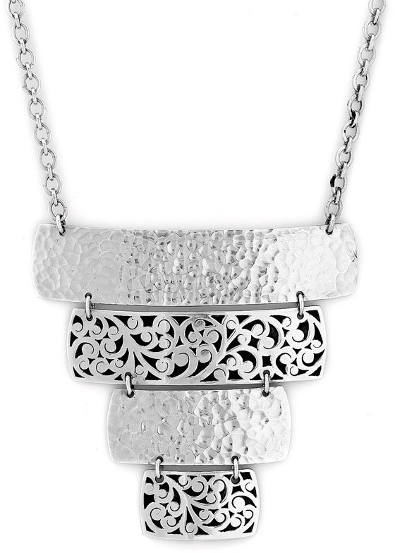 Lois Hill 'Skyscraper' Tiered Necklace