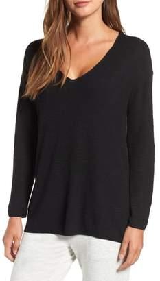 Lou & Grey V-Neck Tunic Sweater