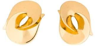 Christian Dior Interlocked Clip-On Earrings