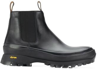 Jil Sander Vibram sole Beatle boots