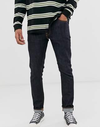 Nudie Jeans Lean Dean slim tapered 16 dips jeans in blue