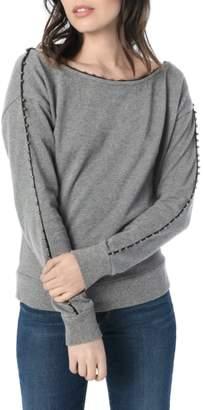 Joe's Jeans Jayla Off the Shoulder Sweatshirt
