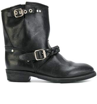 Golden Goose Buckle up ankle boots
