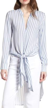 Bishop + Young BISHOP AND YOUNG Stripe Front Tie Tunic