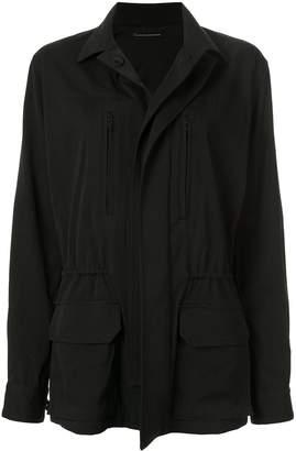 Y's drawstring waist jacket