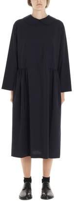 Comme des Garcons Round Collar Midi Dress