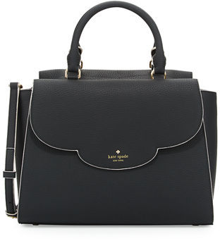 Kate Spade New York Leewood Place Makayla Leather Tote Bag $398 thestylecure.com
