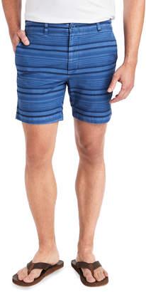 Vineyard Vines 7 Inch Over-Dyed Stripe Island Shorts