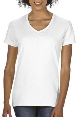 Gildan Heavy Cotton Women's Classic Short Sleeve V-Neck T-Shirt