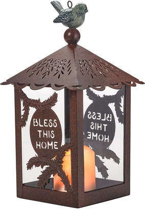 Precious Moments Bless This Home Garden Decorative Lantern With Flameless Candle