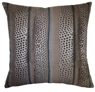 Square Feathers Robertson Zulu Accent Pillow
