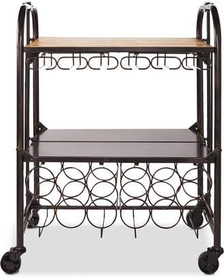 Mikasa Hadamar Folding Bar Cart