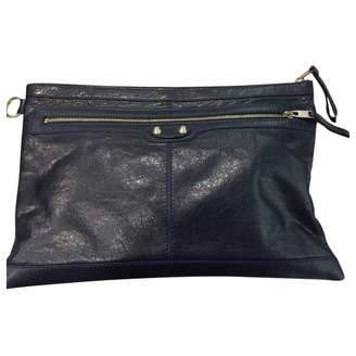 Balenciaga Leather clutch bag