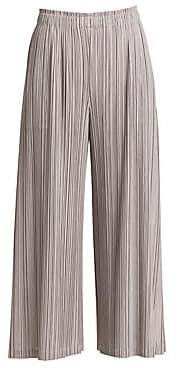 Pleats Please Issey Miyake Women's Mellow Pleats Culottes