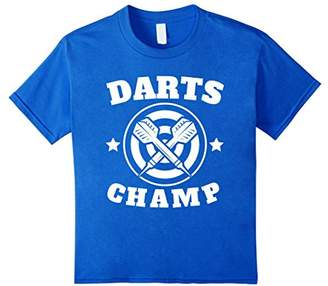 D+art's Darts Champ Retro Darts Shirt