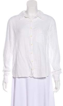 Cp Shades Collared Button-Up Top