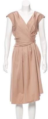 Paule Ka Midi Sheath Dress
