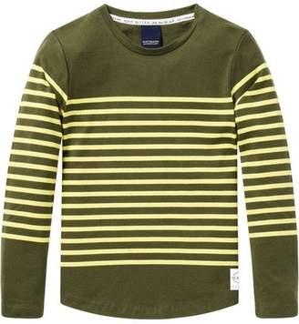 Scotch & Soda Long Sleeve Breton T-Shirt