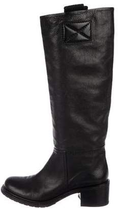 Roberto Del Carlo Leather Knee-High Boots