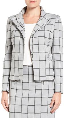 Halogen Windowpane Check Stretch Suit Jacket (Regular & Petite) $109 thestylecure.com