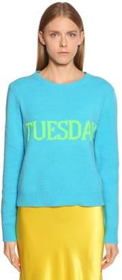 Alberta Ferretti Tuesday Wool & Cashmere Sweater