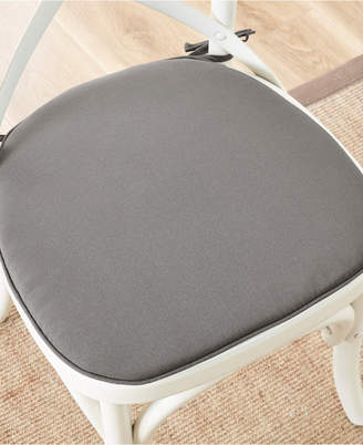 Pacifica Madison Park Solid Weather-Resistant Indoor/Outdoor Chair Pad Pair with 3M Scotchgard