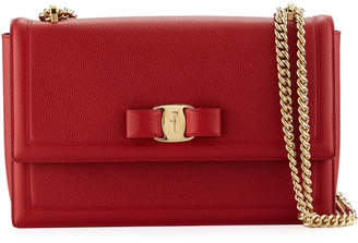 Salvatore Ferragamo Medium Ginny Shoulder Bag