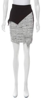 Yigal Azrouel Cut25 by Layered-Accented Mini Skirt