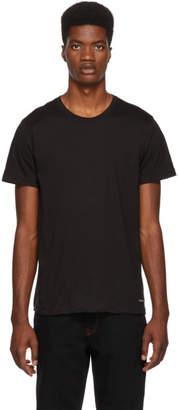 Calvin Klein Underwear (カルバン クライン アンダーウェア) - Calvin Klein Underwear ブラック クルーネック T シャツ 3 枚セット