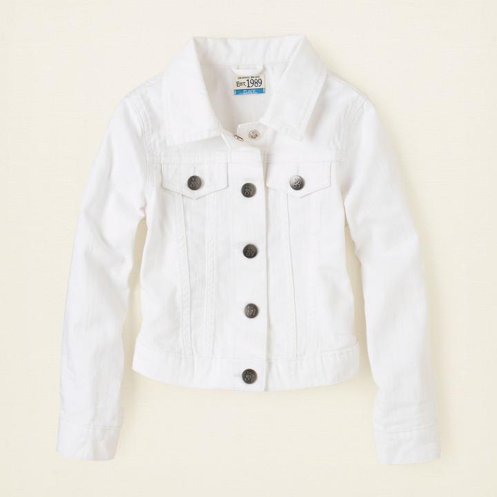 Children's Place Color denim jacket