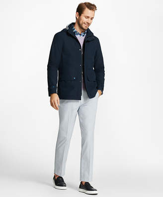 Brooks Brothers Three-Layer Waterproof Rain Jacket
