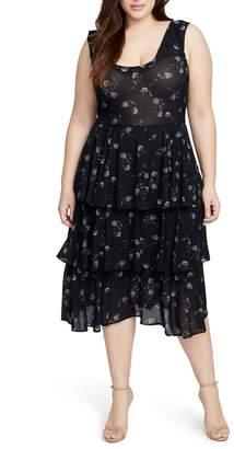 Rachel Roy Tiered Knit Dress